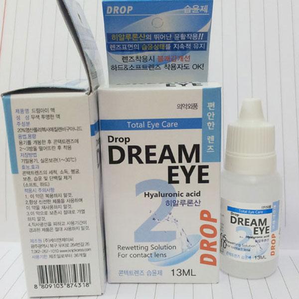 Tại sao cần dùng thuốc nhỏ mắt khi đeo kính áp tròng?