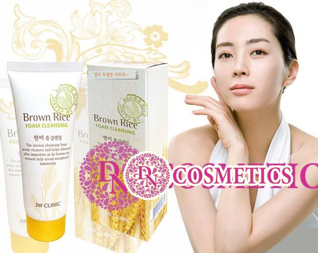 sua-rua-mat-chiet-xuat-tu-gao-3w-clinic-brown-rice-foam-cleansing-2