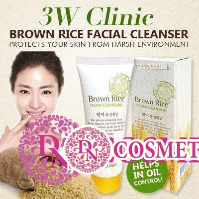 sua-rua-mat-chiet-xuat-tu-gao-3w-clinic-brown-rice-foam-cleansing-4