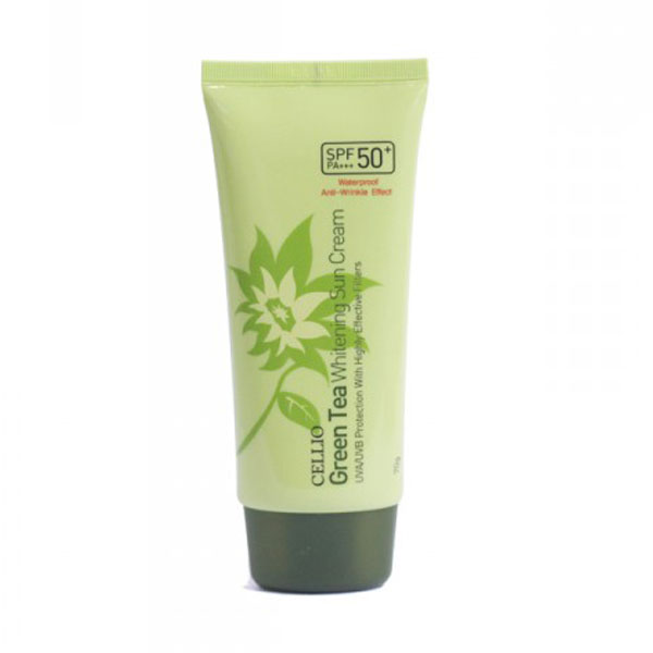 kem-chong-nang-cellio-green-tea-whitening-sun-cream-spf50-pa
