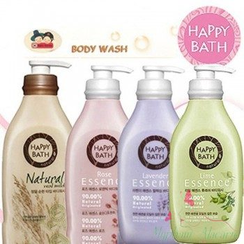 set-sua-tam-happy-bath-1-chai-1-goi