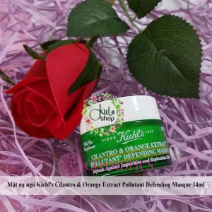 mat-na-ngu-kiehls-cilantro-orange-extract-pollutant-defending-masque-14ml