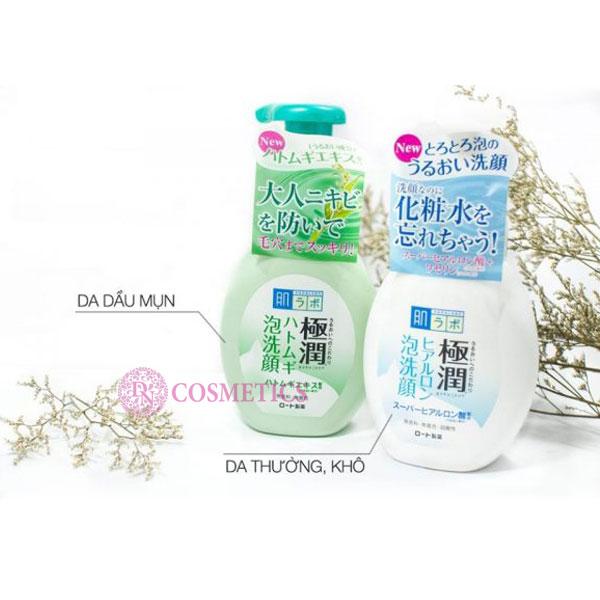 sua-rua-mat-tao-bot-hada-labo-gokujyun-160ml
