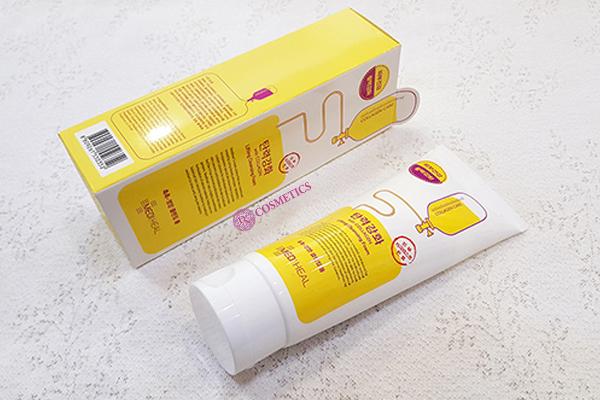 sua-rua-mat-mediheal-lifting-cleansing-foam-170ml-vang-1