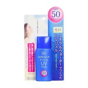 kem-chong-nang-shiseido-mau-xanh-mineral-water-senka-spf50-40ml