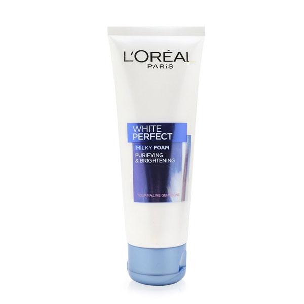 sua-rua-mat-loreal-white-perfect-milky-foam-trang-da-100ml