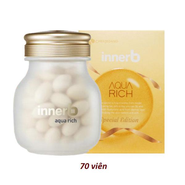 vien-uong-cap-nuoc-collagen-cj-innerb-aqua-rich-70-vien