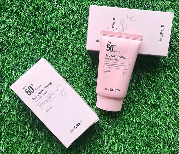 kem-chong-nang-the-saem-eco-earth-power-pink-sun-cream-spf50-mau-hong-1