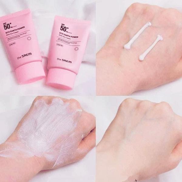 kem-chong-nang-the-saem-eco-earth-power-pink-sun-cream-spf50-mau-hong-2