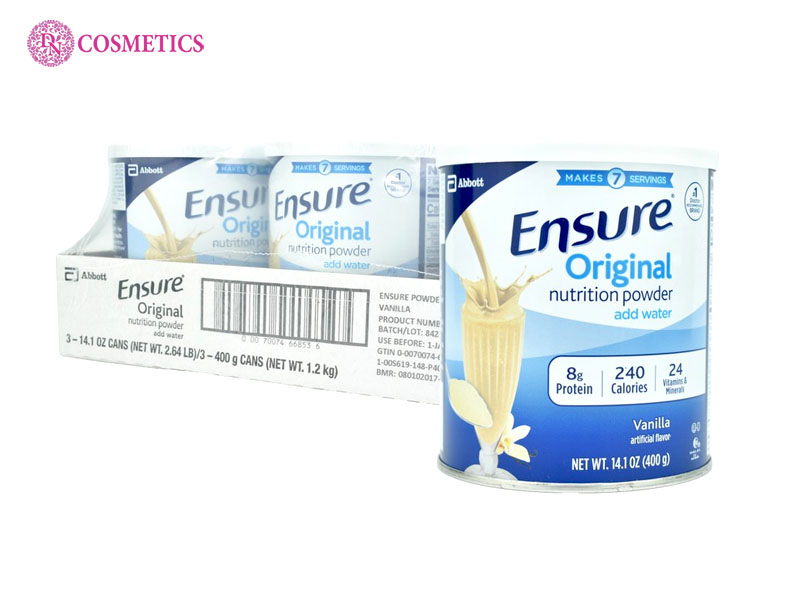 dac-trung-cua-san-pham-sua-ensure-original-nutrition-powder-397g