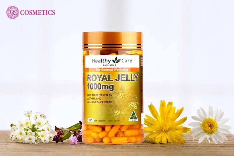 gioi-thieu-ve-sua-ong-chua-healthy-care-royal-jelly-1000mg