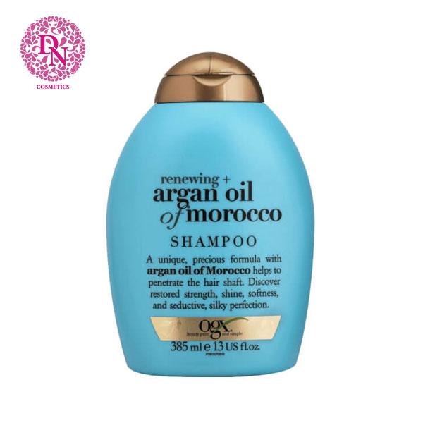 dau-goi-ogx-argan-oil-385ml-mau-xanh
